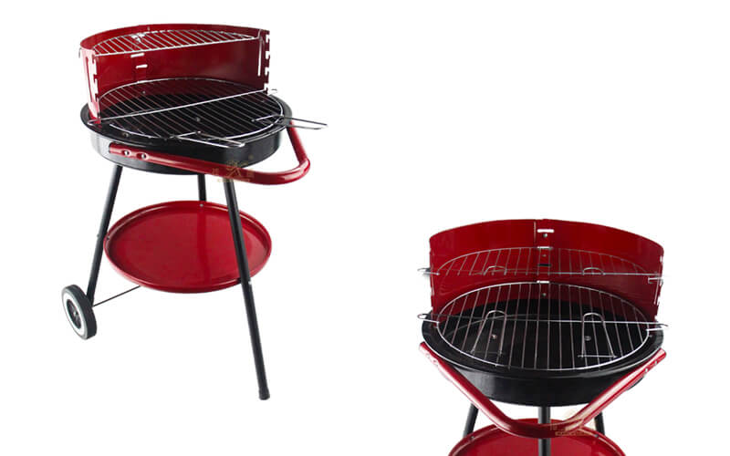 iron round barbecue grill outdoor grill supplier