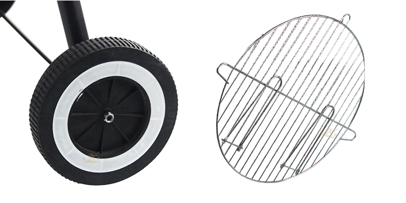 Iron round barbecue grill supplier