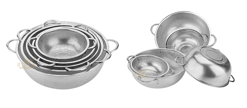 stainless steel kitchen food basket filter factory