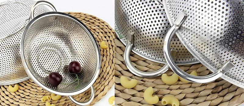 stainless steel kitchen food basket filter supplier