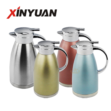 Vacuum carafe coffee stainless steel double-wall water pitcher thermal insulated factory promotion gift FT-01508