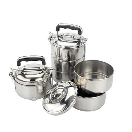 Is your stainless steel tiffin lunch boxes leak proof?