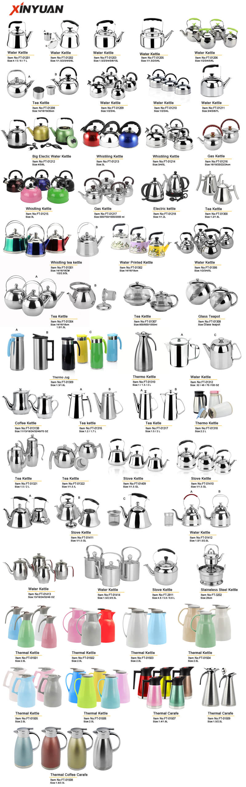 kettle flask stainless steel factory