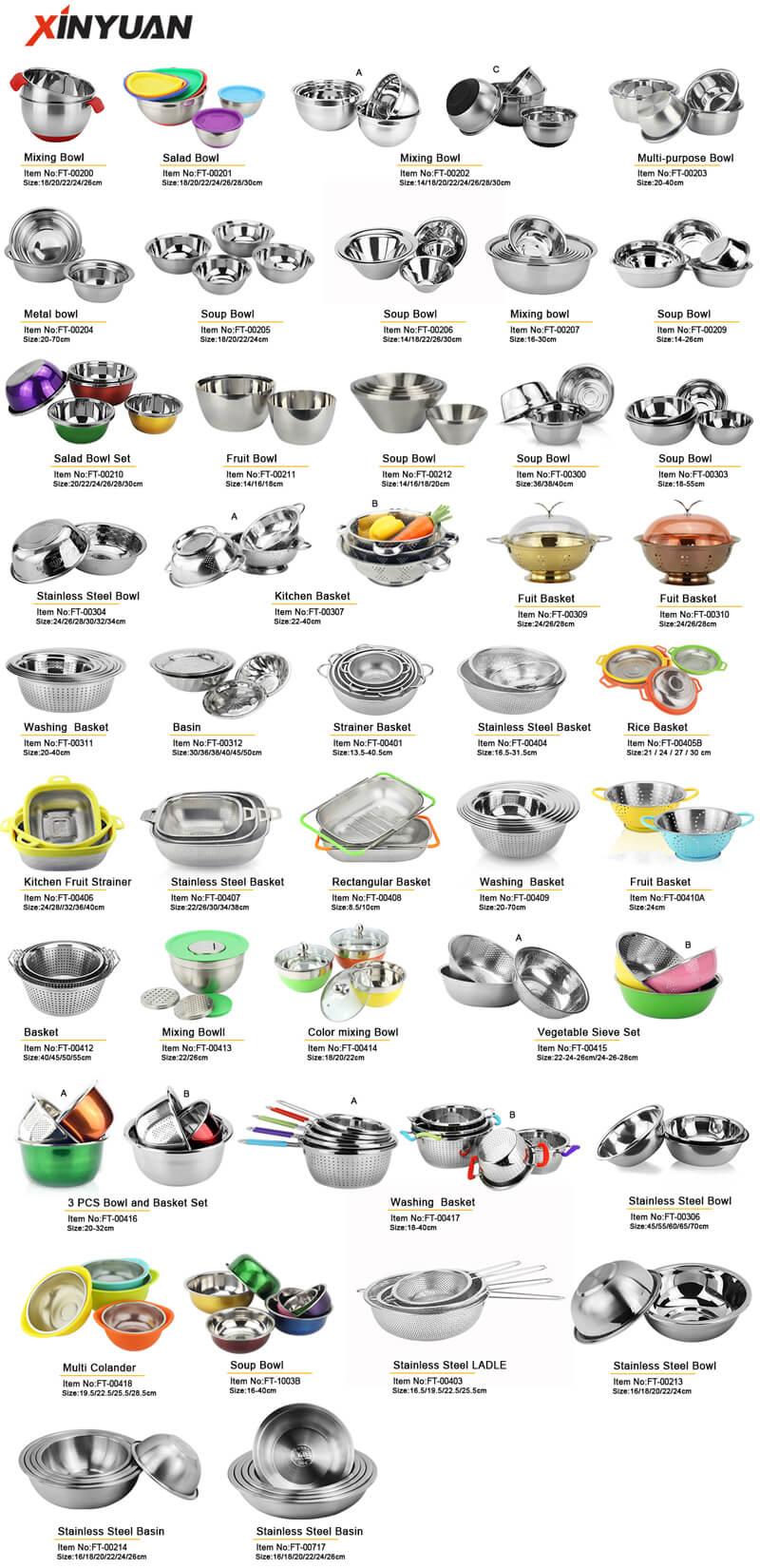 basin stainless steel kitchenware