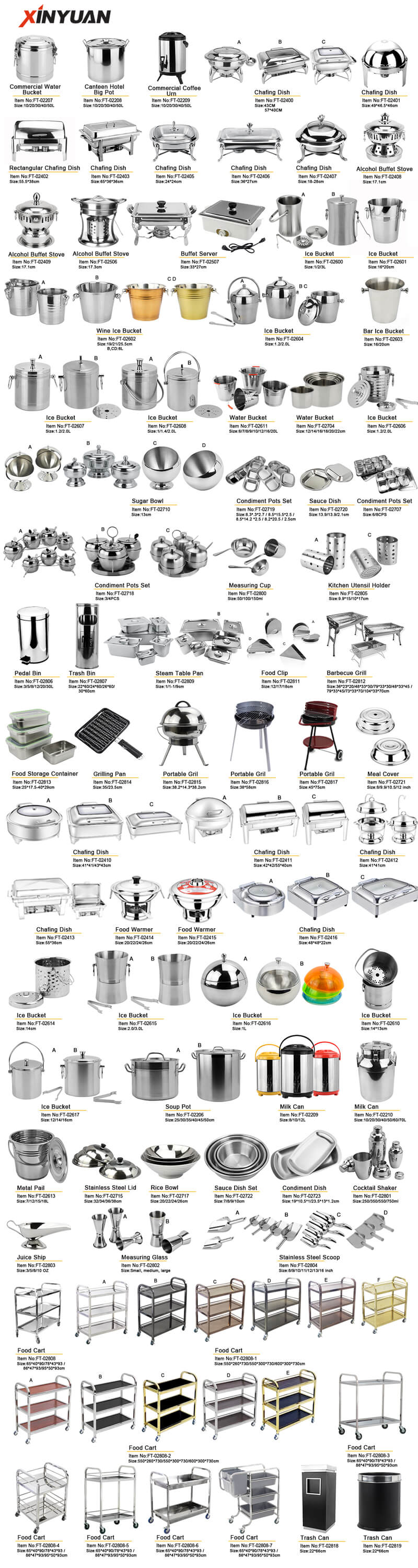 hotel series stainless steel wholesale
