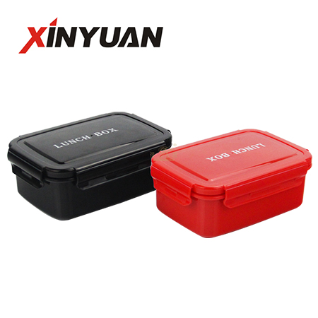 Double insulated bento box stainless steel 304 square kids container leakproof  with divider supplier 850ml
