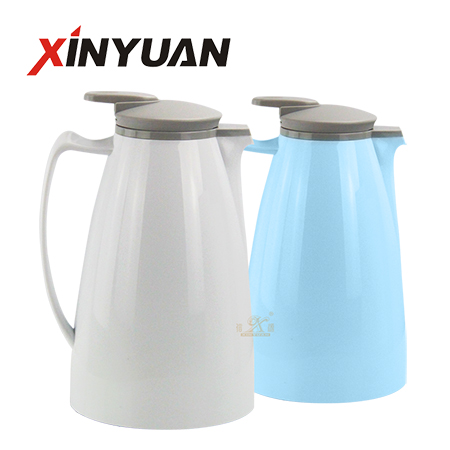 Vacuum insulated kettle stainless steel thermos coffee carafe water kettle 2-L capacity manufacturer FT-01503