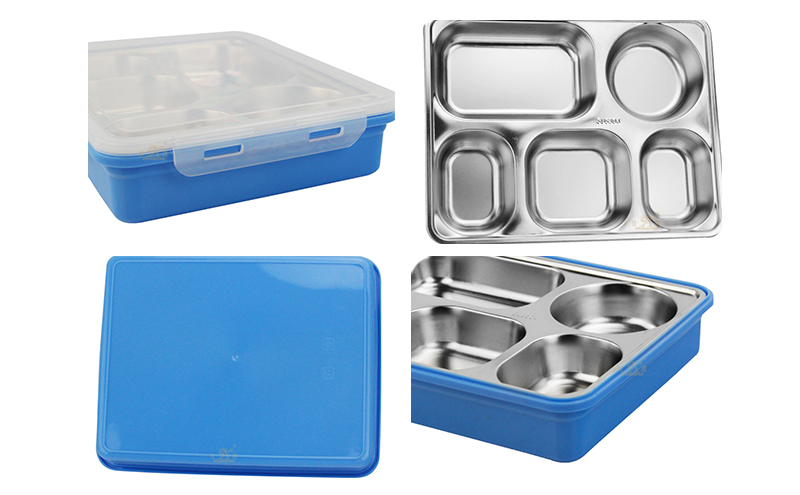 lunch box 5 compartment oem