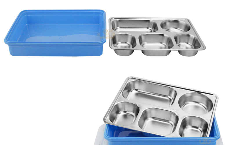 lunch box 5 compartment supplier
