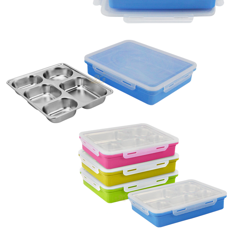 lunch box 5 compartment export