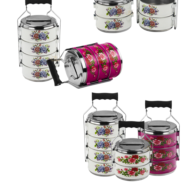 tiffin food carrier stainless steel