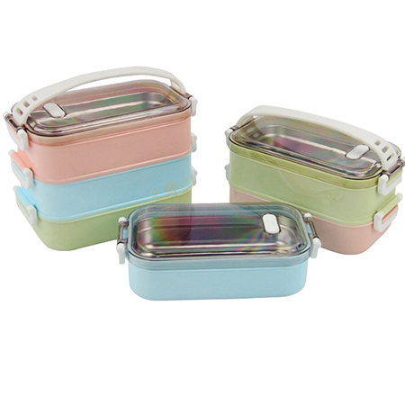 Stainless steel student bento box lunch box