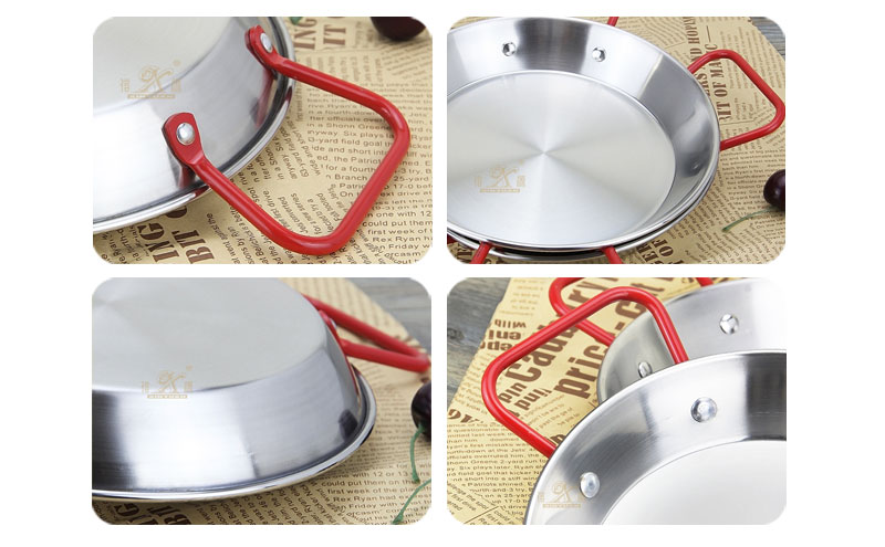 stainless frying pan OEM stainless steel