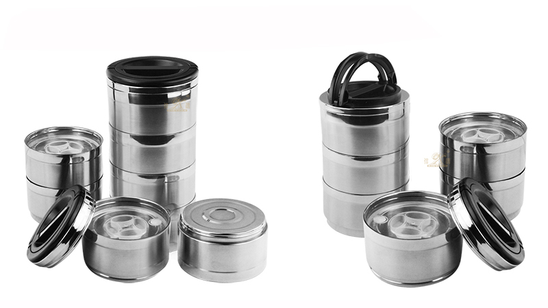 Tiffin Box Metal stainless steel