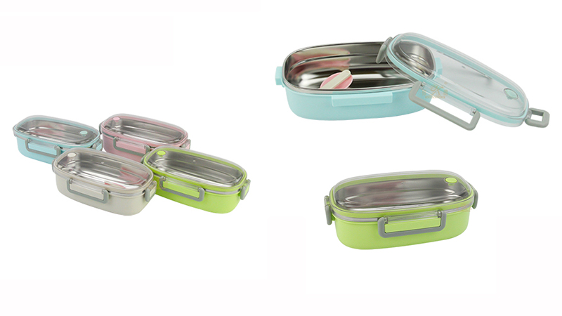 stainless steel OEM insulated lunch containers