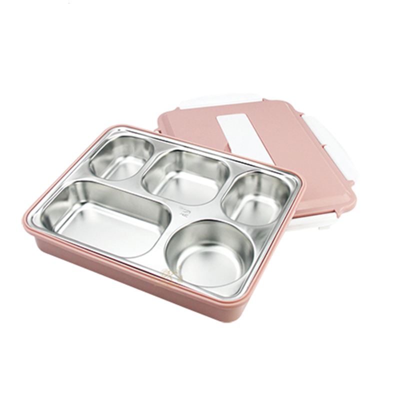 stainless steel Fast food tray compartment dinner plates!