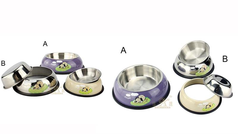 pet bowls feeder OEM stainless steel
