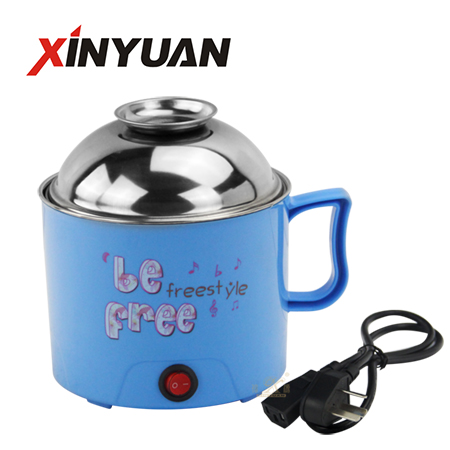 Rapid noodles cooker with stainless steel lid or glass lid for choice wholesale FT-02120