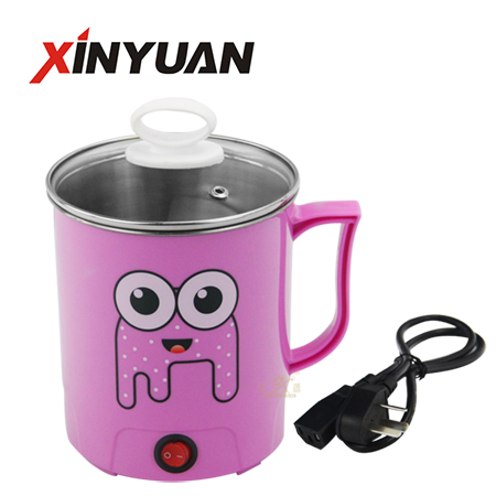 Mini electric hot pot fast cook noodle  without fire exporter FT-02119