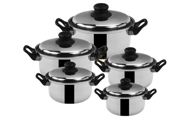 soup pot set ODM saucepan set