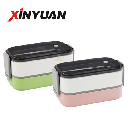 Kids lunch box of stainless steel inner sales by Chinese factory FT-02916