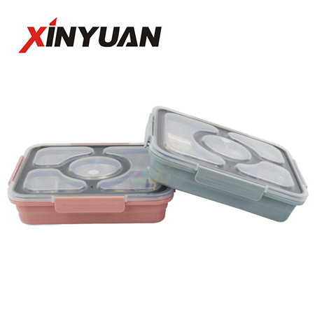 Food trays best lunch box with 18/8 stainless steel removable tray of factory price FT-02914