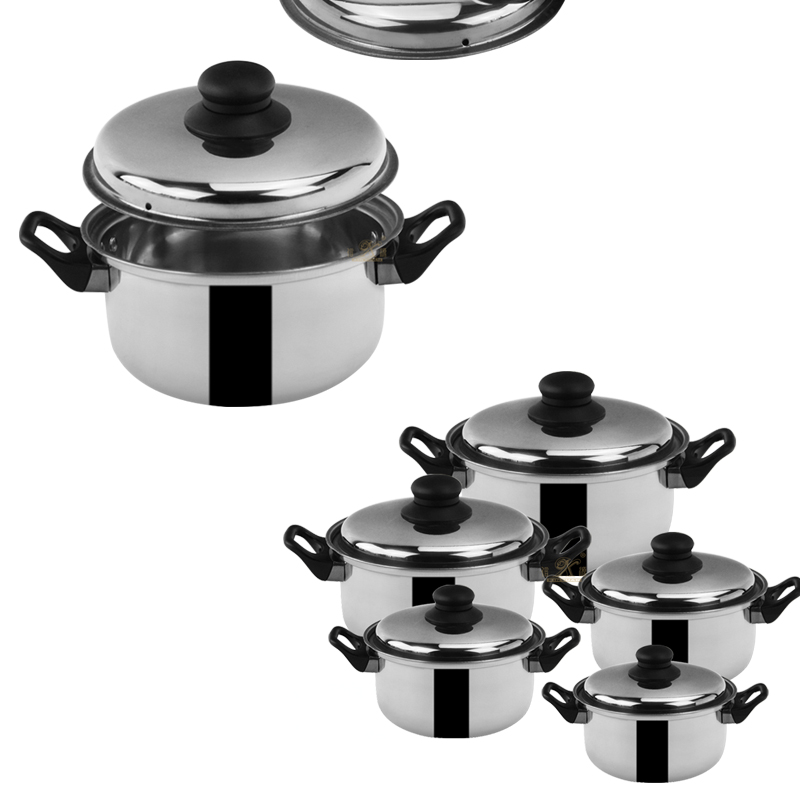 soup pot set OEM saucepan set