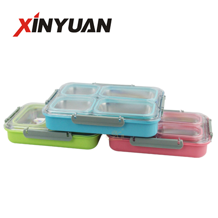 Best Lunch Box with Removable Stainless Steel Tray Sale by Factory FT-02907