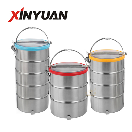 Tiffin lunch box of stainless steel wholesale selling FT-02910