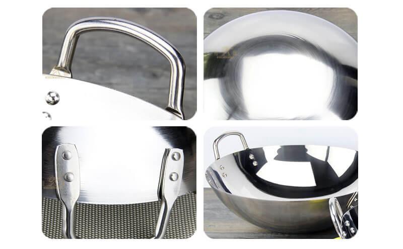 stir wok ODM stainless steel