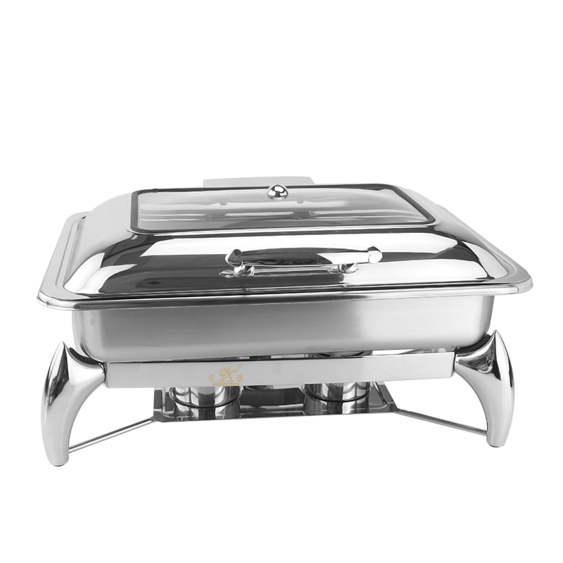 Induction Chafer is made by stainless steel Body ,The chafing dish  is perfect!