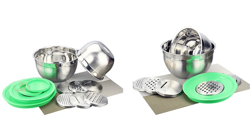 metal mixing bowls ODM stainless steel