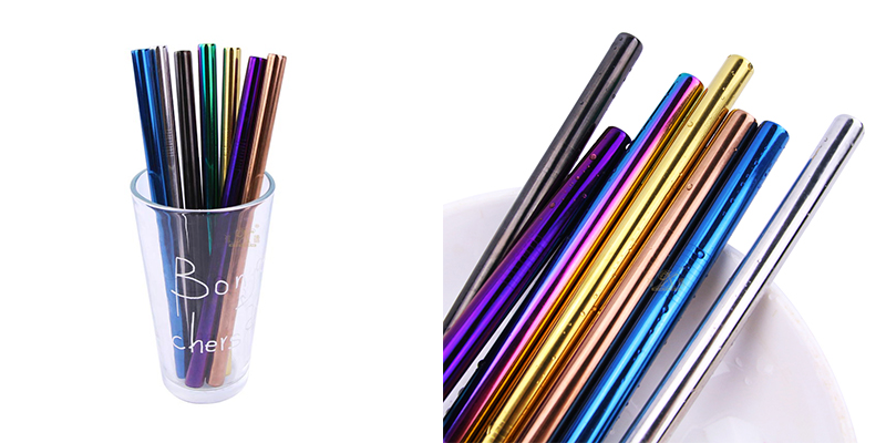 stainless steel straw OEM Reusable Straws
