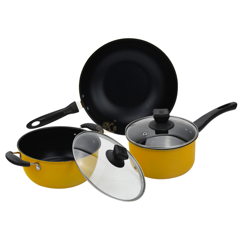 Cookware sets  aluminum and stainless steel the pros !