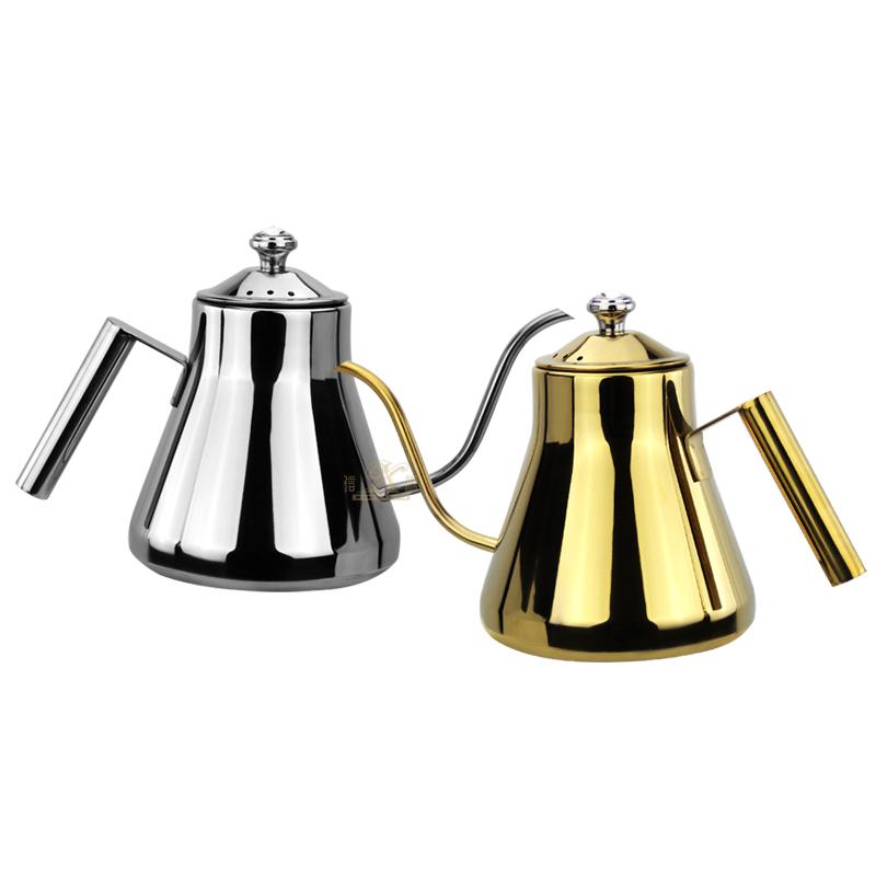 Coffee pot stainless steel Long Coffee Drip Kettle,Long Mouth Coffee Pot Used To Brew Coffee Milk Black Tea Green Tea Flower Tea