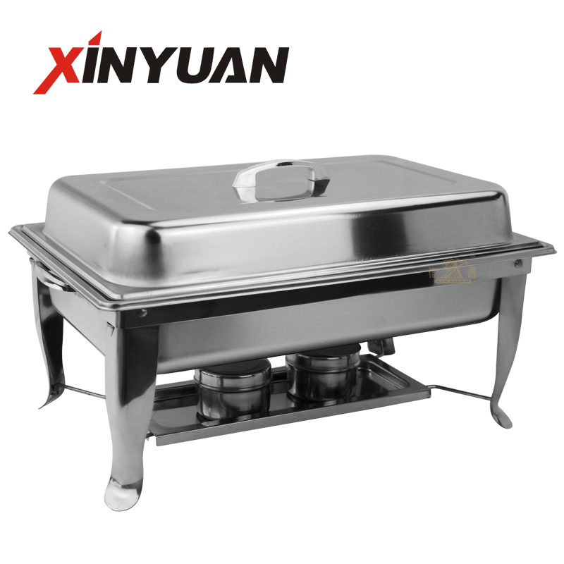 Restaurant chafing dishes Set Full Size Stainless Steel Chafer with Foldable Frame for restaurant Catering Buffet food Warmer Tray Kitchen Party Dining Chafing Dish