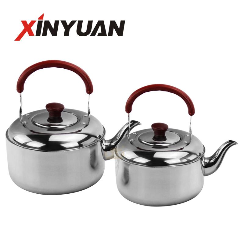 Stainless Steel Whistling Kettle Teapot, Large Capacity Home Thickened Stainless Steel Whistling Gas Stove Restaurants