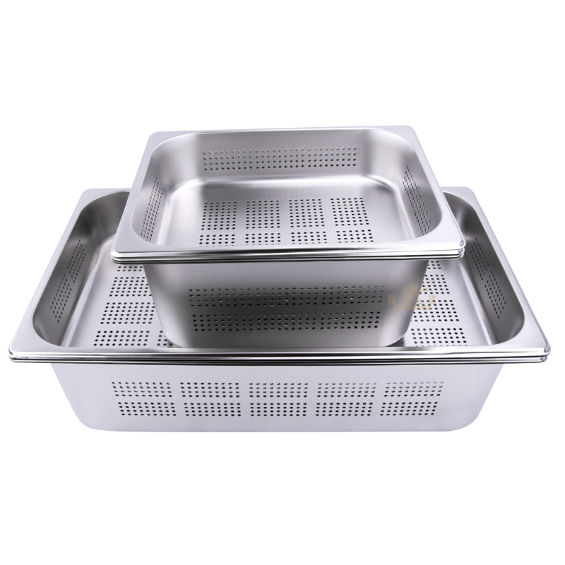 GN PAN GN-Store Gastronorm Pan 1/1 100 mm, Perforated