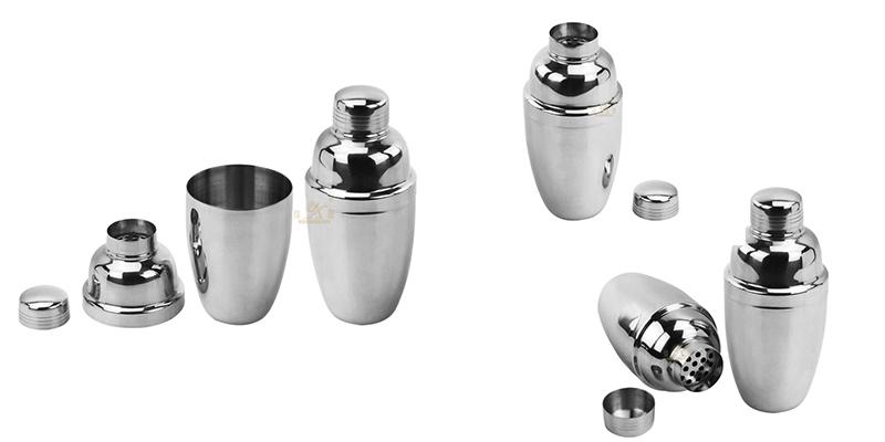 Stainless steel cocktail shaker OEM stainless steel
