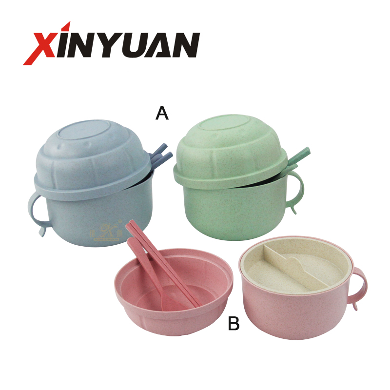 Eco Friendly Healthy Wheat Straw Cup Portable Handy Cup with Spoon and Chopsticks, Bento Box for Kids for Water Coffee Milk Juice Tea Meal Cups