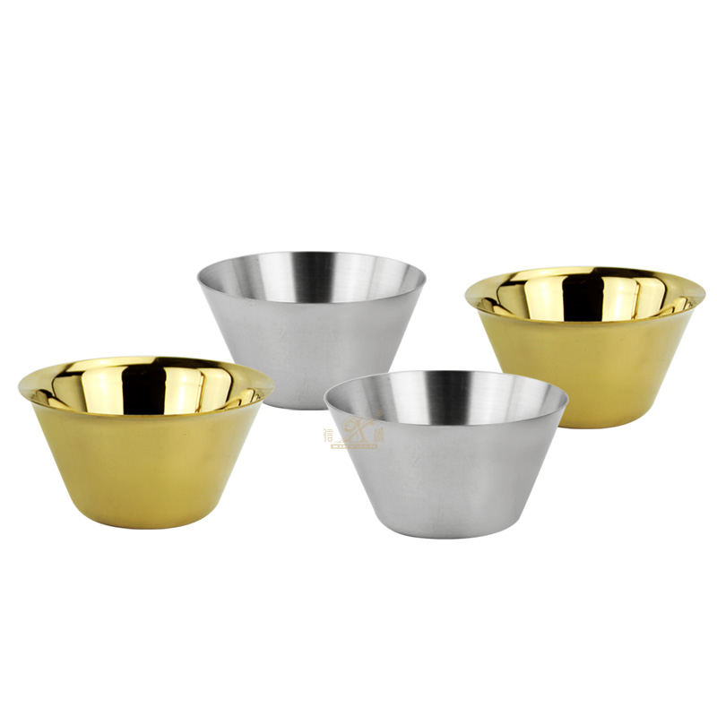 304 Stainless Steel Bowls Salad Plate Heat Insulated Soup Seasoning Dish Noodles Salad Mixing Ice Cream Mixing Bowl Snacks Bowls Silver