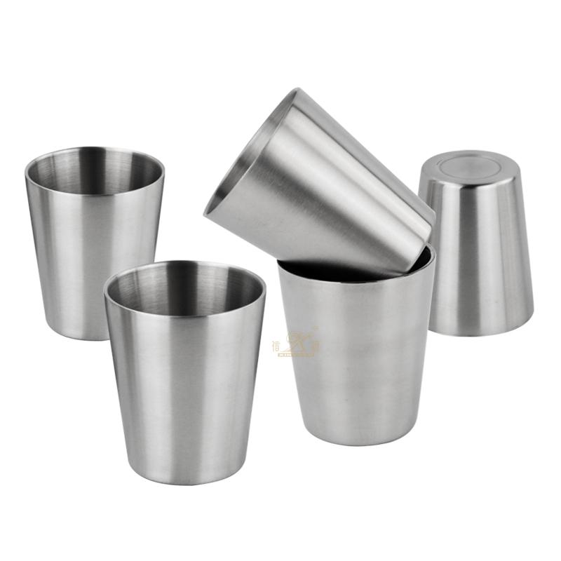 Stainless Steel Beer Mug Cup, Reusable Metal Beer Tumbler, Stackable Drinking Cup, BPA Free Mug, for Camping,Hiking, Outdoor, Indoor Activities,Kids