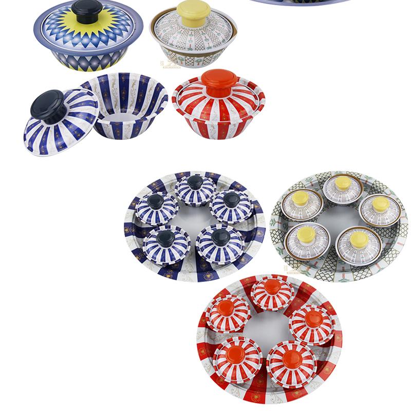 iron bowl sets OEM set of bowl
