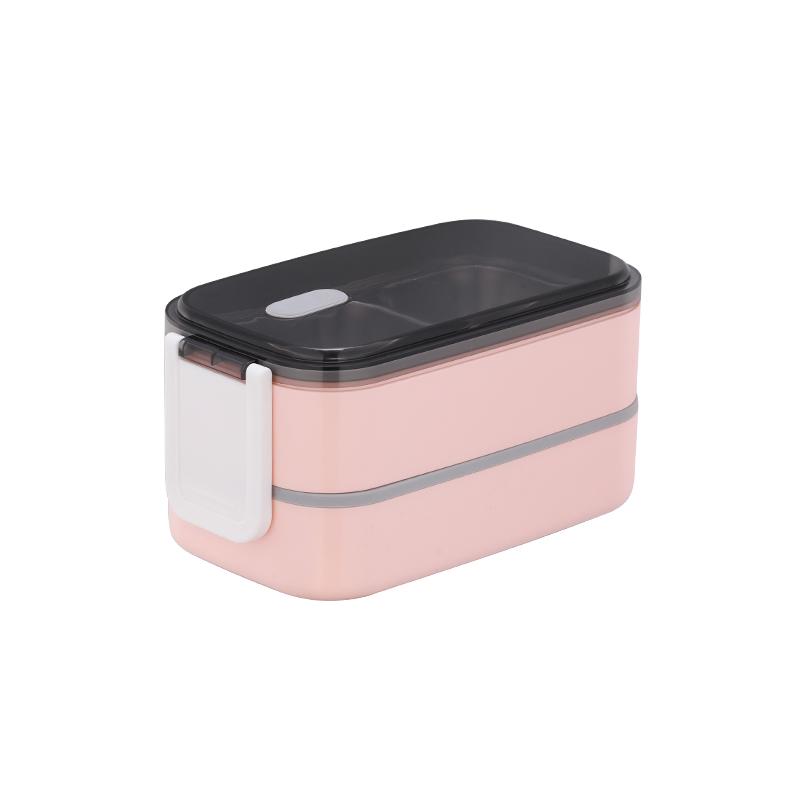 New design bento box lunch food  box 2 tiers steel boxs