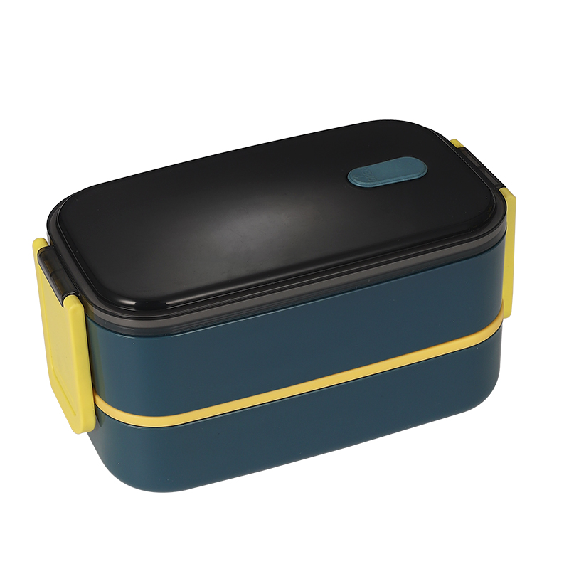 Box Lunch for Kids and Adults,  Leak proof school box with 2 Compartments,  Lunch box Made by PP Material