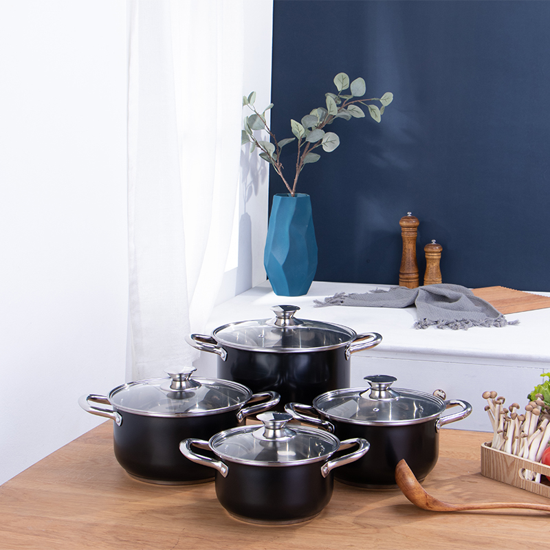 Hot selling Cookware set kitchen  ware sets non stick kitchen pot cookware set cooking