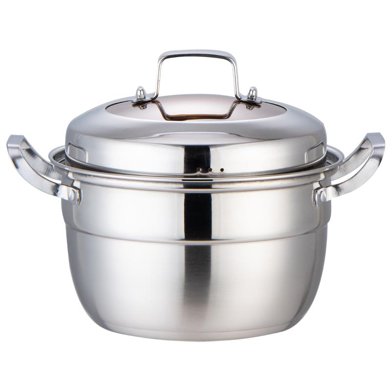 Multi-Size Fashion large capacity stainless steel kitchen pot set,cooking pot set