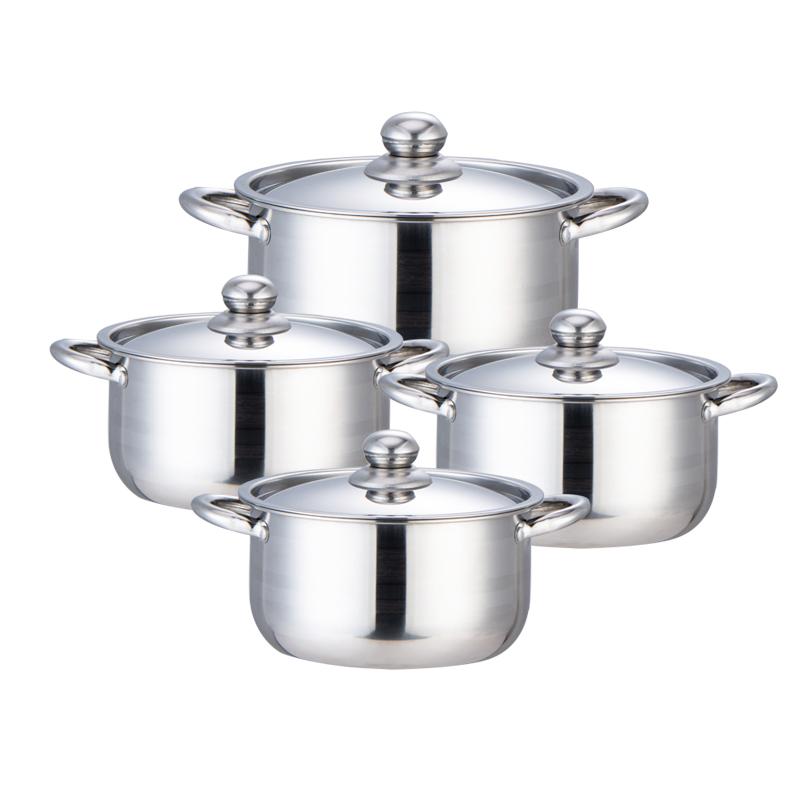 Stainless Steel pot cooking, Food Grade Stainless Steel Heavy Duty Induction ,Stock Pot, Simmering Pot, Soup Pot with See-Through Lid, Dishwasher Safe