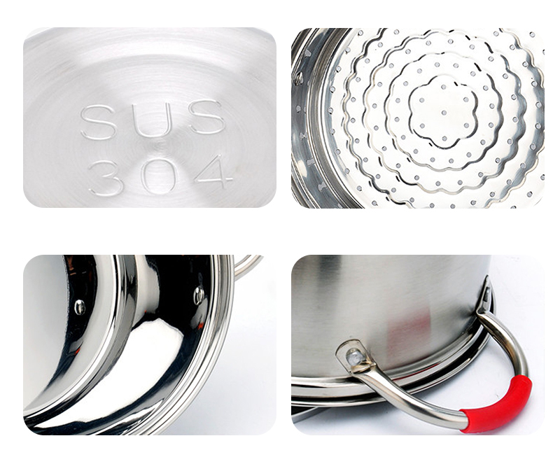 stainless steel Soup Pot OEM pots for cooking set