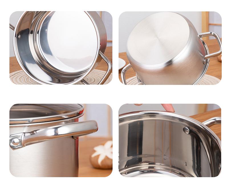 stainless steel hot pot OEM food warmer set